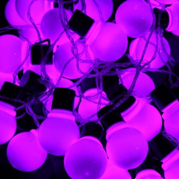 A luz de Natal G45 conduziu o jardim feericamente IP44 conduziu a luz da cintilação 2.5m 5m 10m conduziu luzes