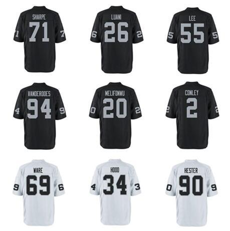 official photos ea5c8 27602 2017 American Football Jerseys Gareon Conley Obi Melifonwu Shalom Luani  Elijah Hood Vapor Untouchable Shirts Wholesale Custom Throwback Jersey From  ...