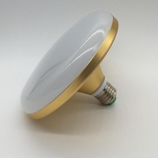 AC220-240V E27 NOVO 12/18/24/36 W SMD Super Brilhante UFO Luz Lâmpada LED Lâmpada de Luz Branca