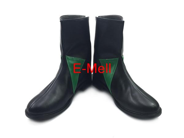 Wholesale-The Seven Deadly Sins Cosplay Meliodas Men's Shoes Short Boots