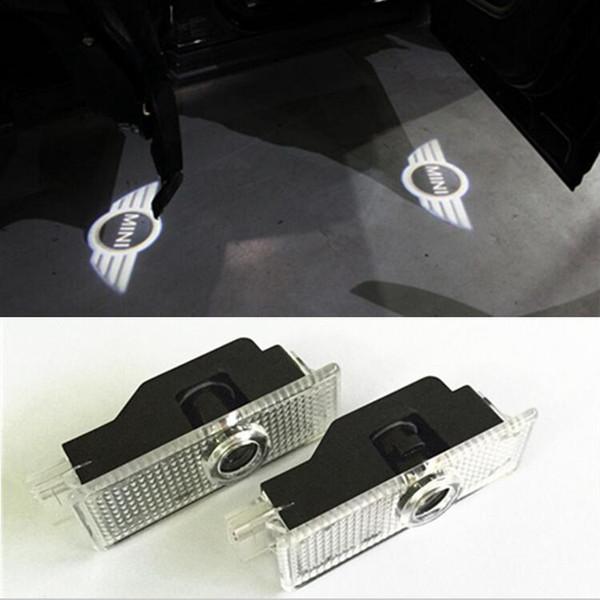 2 шт. / Лот Дверной светильник заменяет Лазерный Светодиод Двери Мини Купер R36 R56 R57