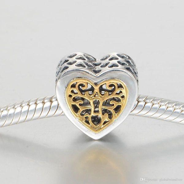 Arbre de vie charme pendentif en gros authentique argent S925 convient pour bracelet et collier style pandora expédition gratuite aleLW618