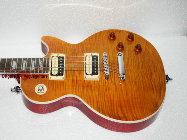 Wholesale Guitars Free Shipping Electric Guitar Mahogany body one piece neck guitars best selling