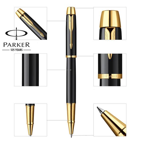 Plumas de rollerball Full Business PARKER IM Business Roller Bolígrafos como regalo de lujo Oficina Papelería