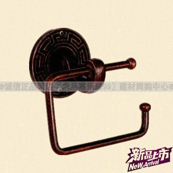 The new world even Thailand good copper lock / copper / reel toilet paper holder LU 968-03 OC European antique paper towel rack