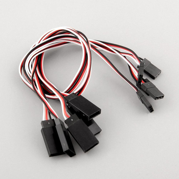 high quality 5pcs Servo receiver Y Extension Cord Cable connecting 300mm for JR Futaba IC connector