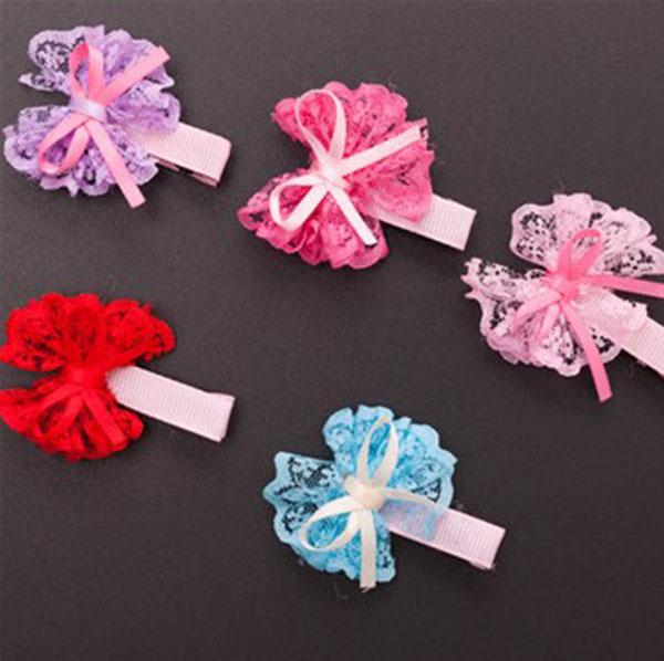 100pcs/lot Pet Cat Dog Hair Clips Beautiful Hair Bows Bow Tie Puppy Hair Accessories Pets Christmas Halloween Party Decor Supplies