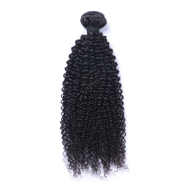 Indian Kinky curl Hair Weaves 8A High Quality 100% Remy Unprocessed Human Hair Extensions 8-30inch 1pc Dyable Full Thick Soft Free Shipping