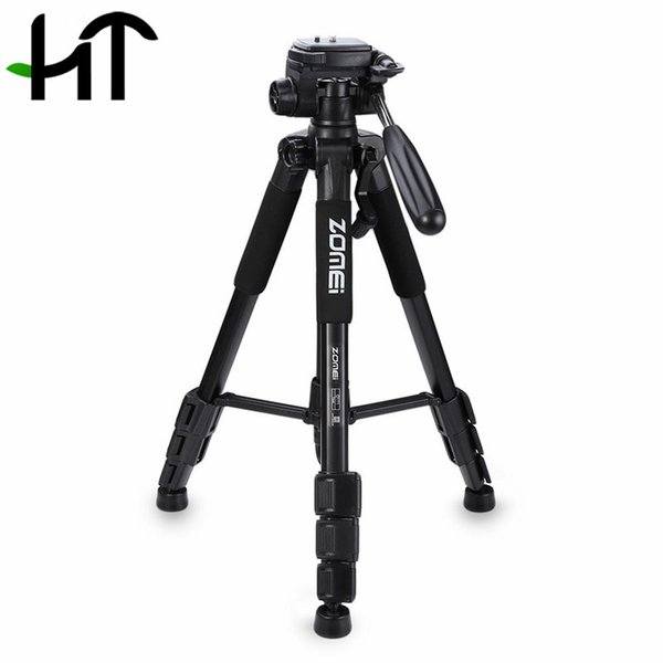 Zomei Q111 Professional Tripod Camera Accessories Photography Portable Aluminum Tripod W/ Bag For Digital SLR DSLR Camera