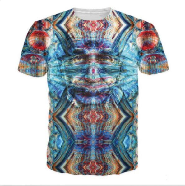 Nova Moda Das Mulheres / Mens Terceiro Einstein Engraçado 3D Impressão Casual T-Shirt JK178
