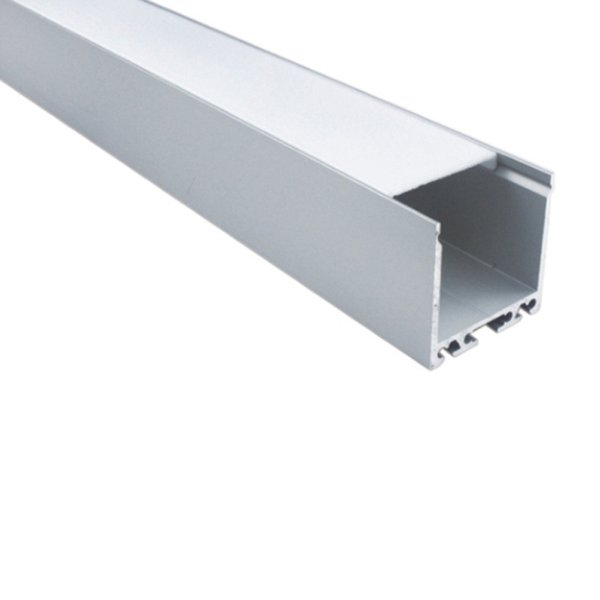 50 X 1M sets/lot Office lighting aluminum led channel and high power U profile alu for flooring or recessed wall lamp