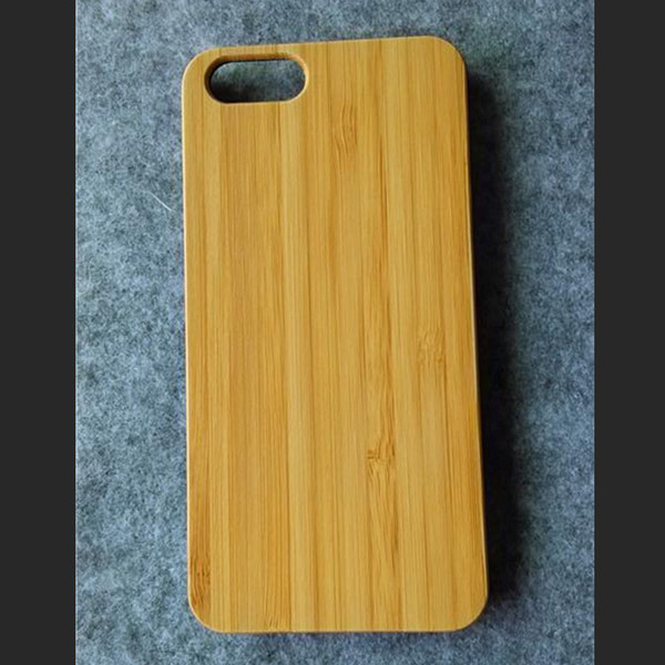 Wood Cover For iPhone 6 Case Genuine Bamboo Cell Phone Back Cover Housing For iphone 6 6S 7 Plus Fundas Cover Factory Supplier Cheap Price