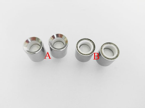 ceramic donut coil head wax dome coil with ceramic plate ceramic donut coil for glass globe cannon vase skillet vaporizer atomizer