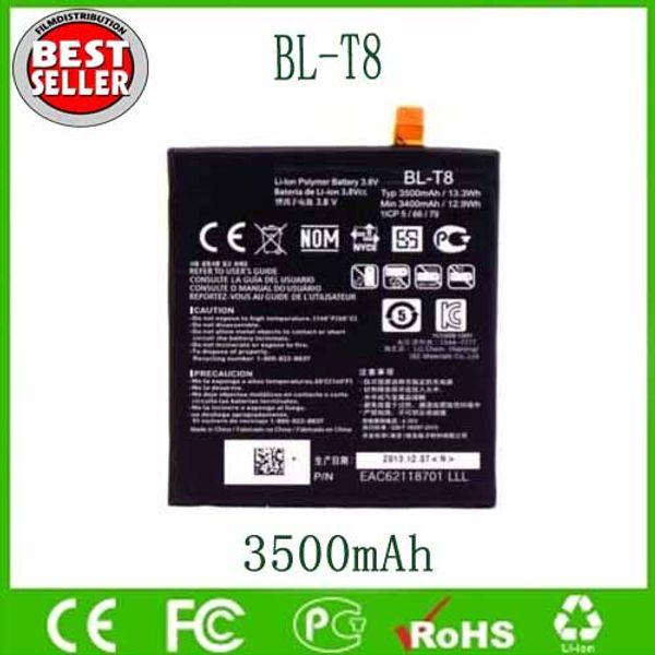 Original OEM BL-T8 BLT8 Battery For LG G Flex F340 D950 D955 D958 D959 LS995 3500mAh Free Shipping Wholesale