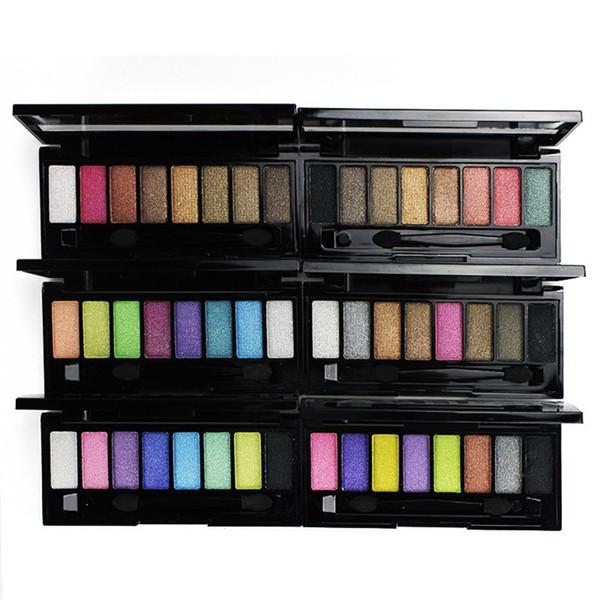 2016 LAMEILA 8 colors makeup eye shadow palette wet powder pearl shimmer eye shadow makeup smoky eyeshadow free shipping