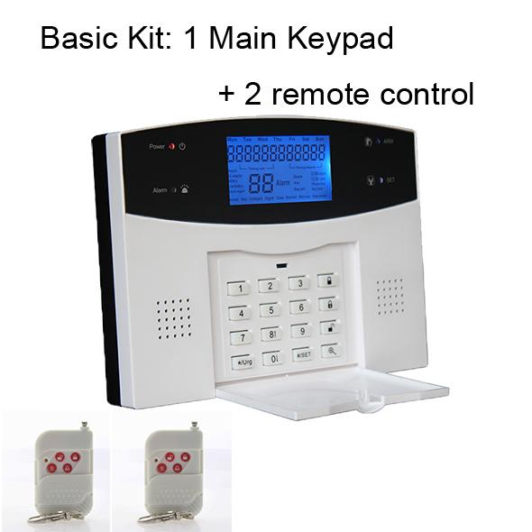 Keypad with 2 Remote