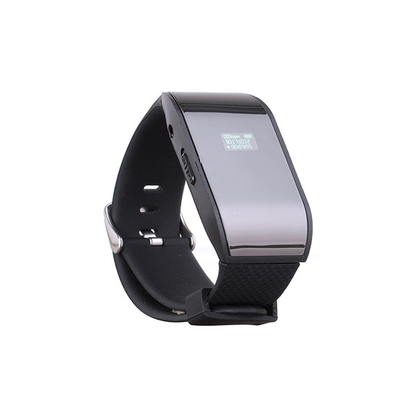 Voice activated LCD SCreen Watch 192 KBPS Digital Audio Voice Recorder USB Flash Drive Recorder Dictaphone rechargable battery MP3 player