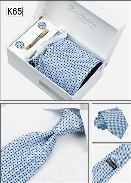 2016 New Korean Fashion Men Use Polyester Necktie Tie Formal Wear Business Negotiation Affairs 6 pcs/set Suit LD10