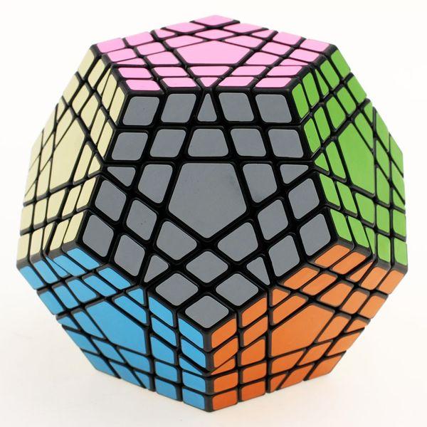 2016 neue Shengshou SHS Gigaminx Zauberwürfel Professionelle 5x5x5 PVCMatte Aufkleber Cubo Magic Puzzle Geschwindigkeit Classic Toys Kostenloser Versand