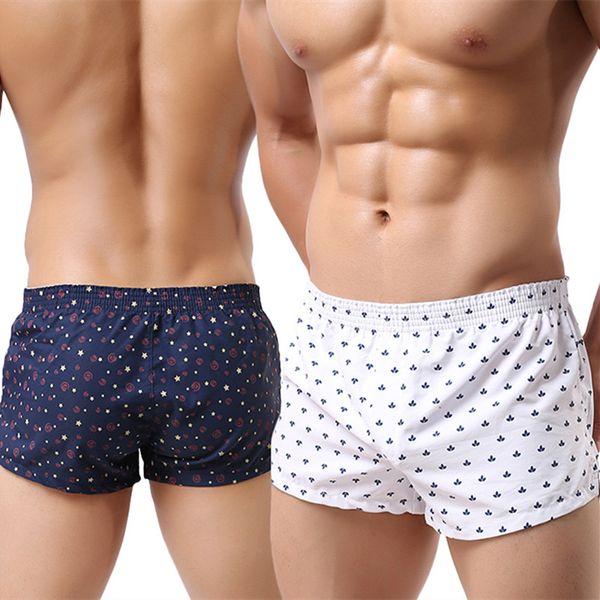 Mens Luxury Underwear Men's Boxer Shorts Mens Boxers Men Boxers Shorts Male Casual Shorts Home Underpants Panties For Men