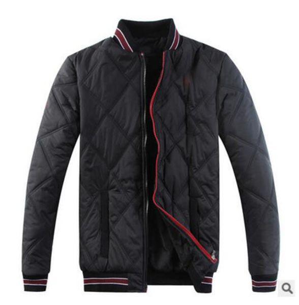 2017 Men's POLO fashionable eiderdown cotton-padded jacket Sleeveless vest Brand ma3 jia3 coat Men's super light feather jacket