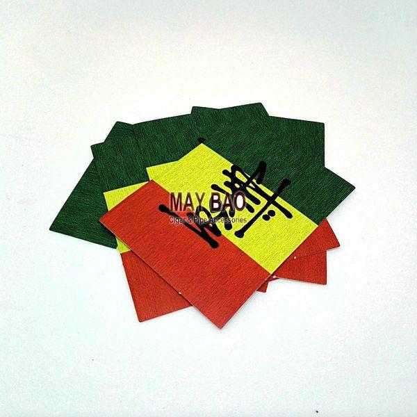 10 rasta sticker smoke sticker raggae bob marley bicycle car sticker decal bumper stickers jamaica red