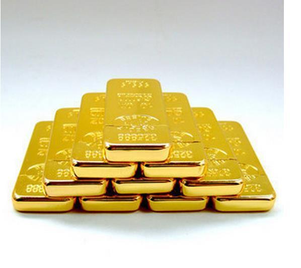 La lega A1121 lingotti d'oro 297 accendini fiamma personalità creativa sottile modelli BRIC oro portatile per gli uomini Spedizione gratuita inviare