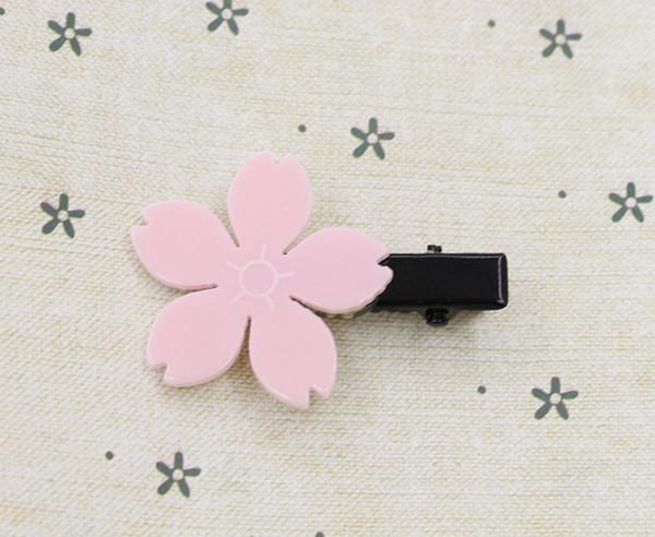 einzelne Kirschblüte Entenschnabel Clip