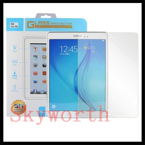 9H Tempered Glass Screen Protector for Samsung Galaxy Tab A E S S2 T350 T550 T580 T700 T590 S4 T830 W/ retail package