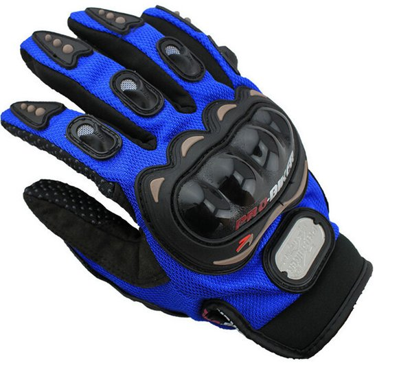 best selling Free Shipping Outdoor Sports full finger knight riding motorbike Motorcycle Gloves 3D Breathable Mesh Fabric men Leather Locomotive Glove