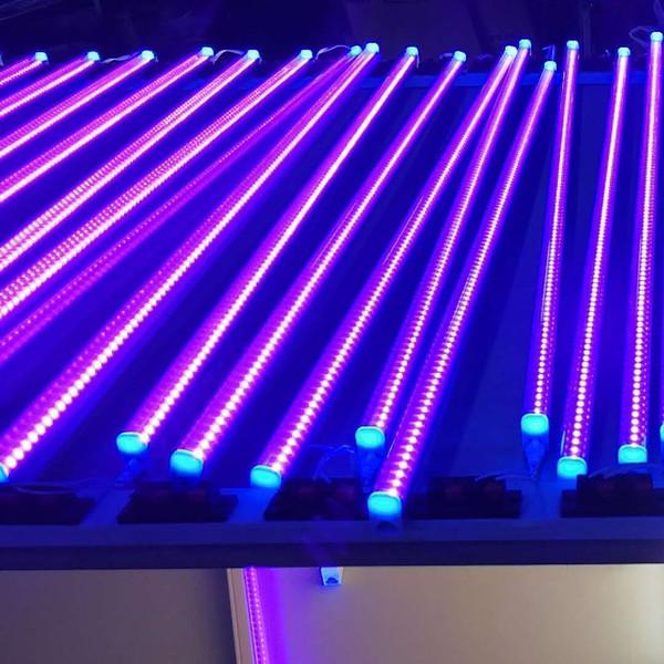 T8 G13 LED UV 395-400nm 365nm 5ft 4ft 1ft 6-24W AC100-240V Röhrenleuchten 24-144LED FCC PF0.95 1200mm Blub Lampe UV-Desinfektion Keim