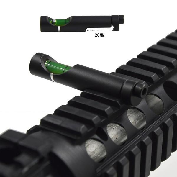 Niveau à bulle pour portées Picatinny tissées 20 mm Portées Portée de la chasse Portée tactique Portée Accessoires