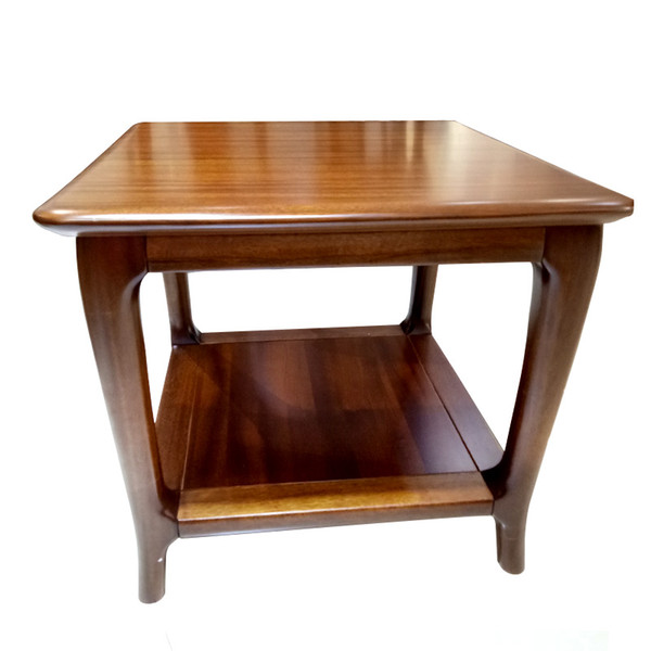 Delicieux Square Wooden Coffee Table Walnut Chinese Indoor End Table Living Room  Furniture 65 * 58cm High