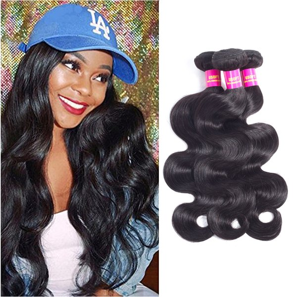 Brazilian Straight 4 Bundles 12inch 100% Unprocessed Virgin Brazilian Hair Bundles Short Length Human Hair Extensions