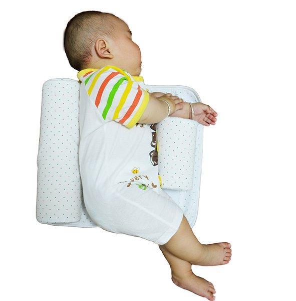 New Baby Infant Newborn Sleep Positioner Anti Roll Pillow