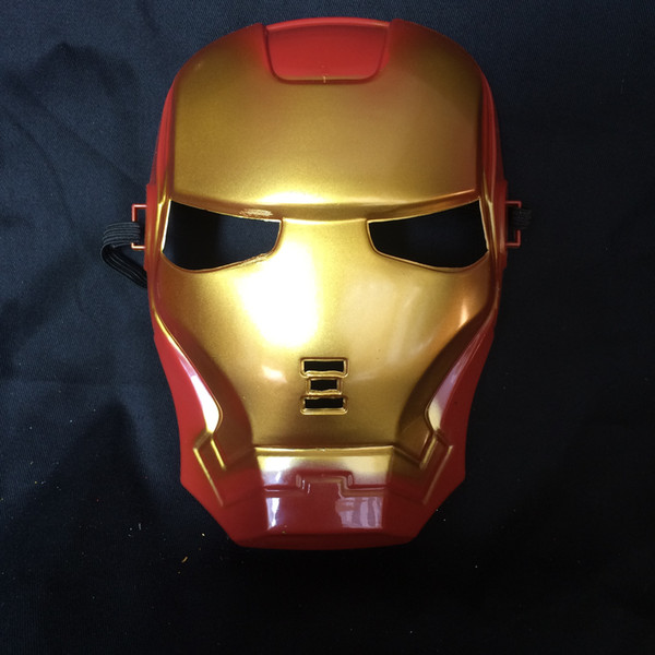 2016 Iron Man máscaras Reality show accesorio Máscara de dibujos animados de cara completa Máscara de fiesta de vacaciones 10pcs / lot