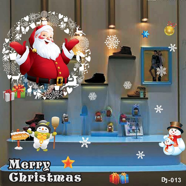 Christmas Decoration Quit Selling The Product Sticker Window Glass Door Stickers Wall