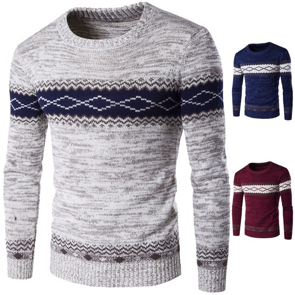 Fashion 2017 autumn new cardigan sweater men polo brand diamond Sweaters pullover long sleeve high quality cashmere sweater men WY03 RF