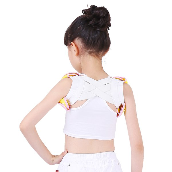 Profesional Criança Ajustável de Volta No Peito Correia de Suporte Postura Corrector Ombro Brace Fita Postura Correta Orthotics Cuidados de Saúde