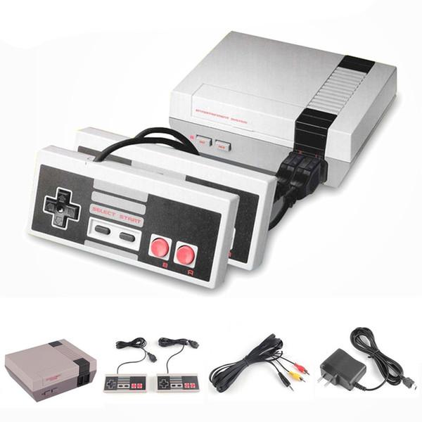 Mini TV Oyun Konsolu Eğlence Sistemi Video El Perakende Kutusu ile NES Oyunları Konsolları için DHL Ücretsiz