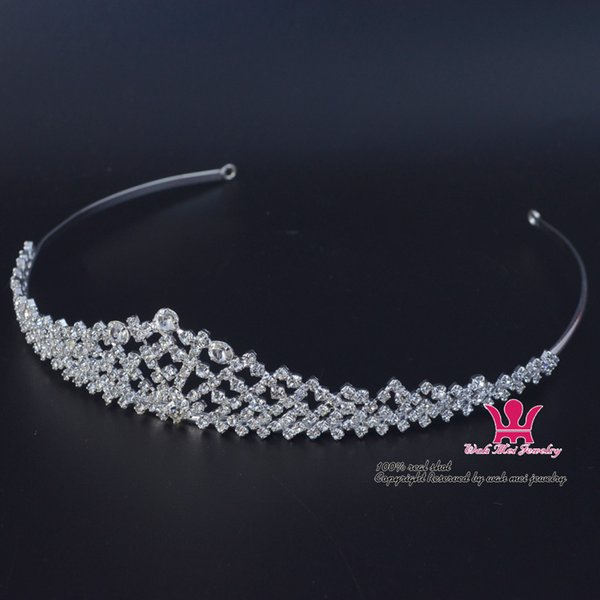 Piccoli gioielli strass Flower Tiara Fascia Wedding Crown Accessori per capelli Gioielli Estremamente bella e delicata Design Hair wear 02253