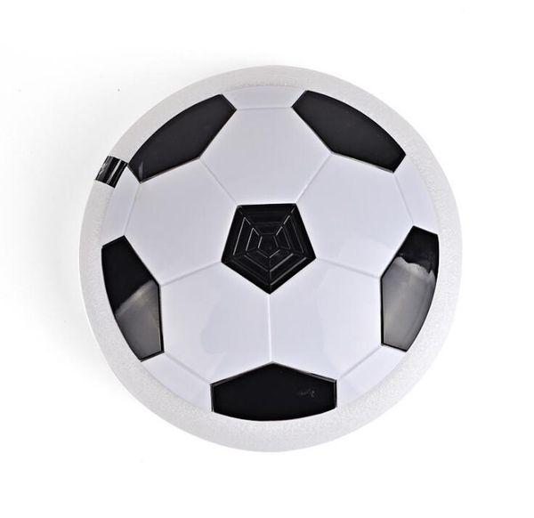 18 cm led vurgulu topu Yenilik açık kapalı oyun sürüklenen futbol spor oyuncaklar Çocuklar LED Hava Güç Futbol Futbol eğlenceli disk oyunları
