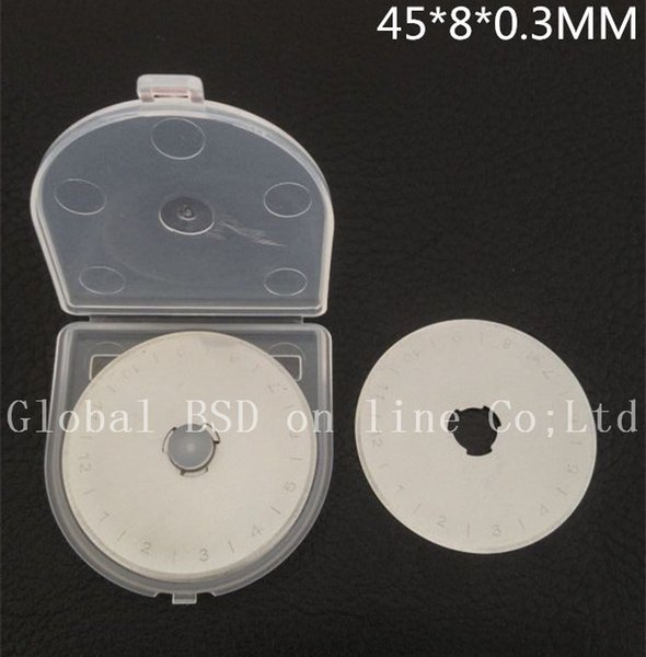 10pcs 45MM ROTARY CUTTER BLADES fits Olfa, Fiskars, Clover and more High quality very sharp Welcome Wholesale