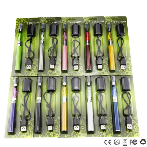 ego ce4 kit CE4 Blister pack kit 1.6ml atomizer 650mah 900mah 1100mah ego t battery electronic cigarettes cheap starter kits
