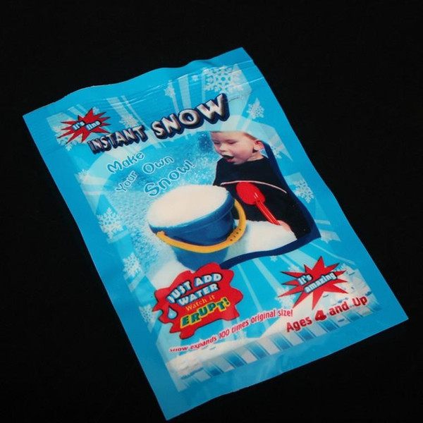 Weihnachtsdekoration Instant Schnee Zauber Prop DIY Instant Künstliche Schnee Pulver Simulation Gefälschte Schnee Für Nacht Party