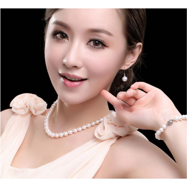 Mayan pearl necklace classic bridal jewelry pearl chock necklace wedding statement necklaces women with a pearl necklace
