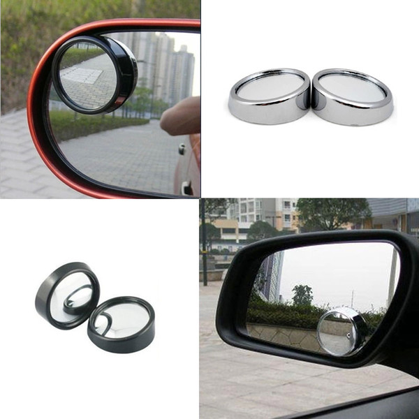 espejos laterales de coche de pcs espejo convexo de ngulo amplio redondo de