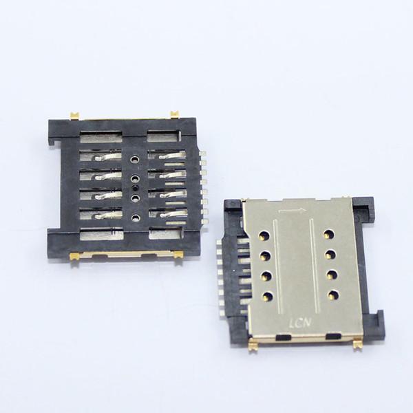 Venta al por mayor-10x teléfono celular Sim lector de tarjetas conector socket conector para Huawei gloria 6 H60-L01 G660-L705 MATE MT1-T00 MT1-U06