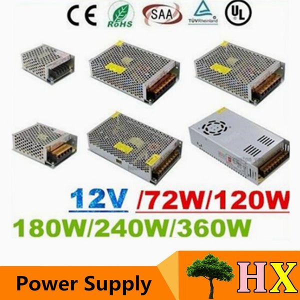 Ce roh ul aa 12v 6a 10a 15a 20a 25a 30a led tran former 70w 120w 360w power upply for led module trip