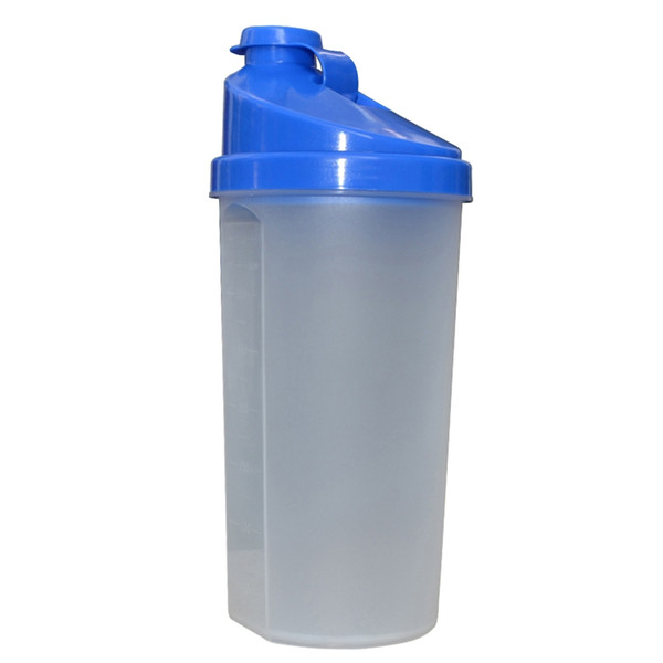 650ml Protein Shaker Wild Mouth Direct Drinking Kettle Sports Drinkware BPA Free Plastic My Water Bottle With Screen
